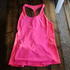 Pink VSX work out tank
